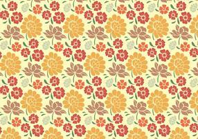 Bloemen Decoratief Patroon vector