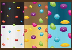 Beklimming Wall Patterns vector