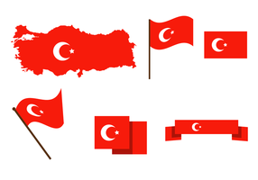 Gratis Turkije Kaart Vector