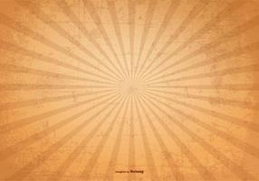 Sunburst Vector Grunge Achtergrond