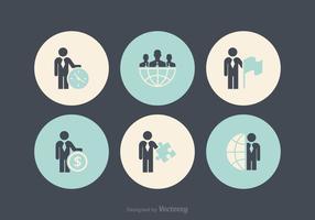 Gratis Business Man Icon Vectors