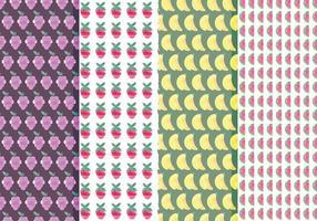 Vector Fruit Patroon Set