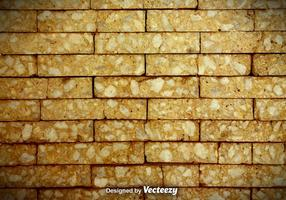Gebarsten Bakstenen Muur Vector Achtergrond
