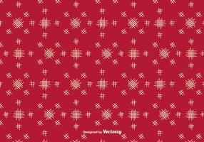 Vector Rode Achtergrond Met Eenvoudige Crosshatch Elementen
