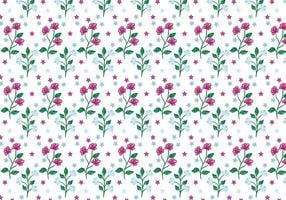 Gratis Vector Bloemenachtergrond
