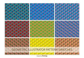 Geometrische Vector Patroon Stalen