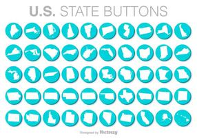 Verenigde Staten Vector Knoppen