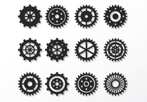 Gratis Clock Parts Vector
