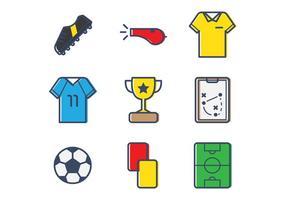 Playbook voetbal vector