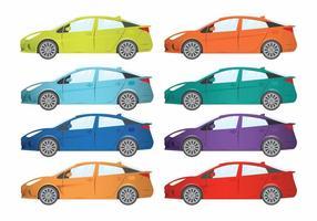 Prius set vector