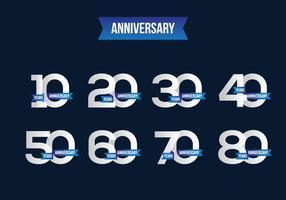 Gratis Anniversary Vector