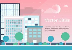 Gratis Vector Steden Achtergrond