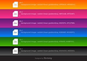 Gratis Vector CSS Lineaire gradiënten