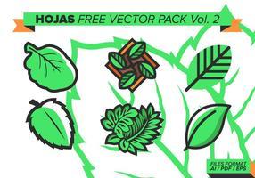 Hojas Gratis Vector Pack Vol. 2