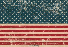 Patriottische Grunge Achtergrond
