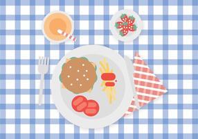 Eten voor kinderen vector