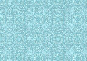 Decoratief motiefpatroon vector