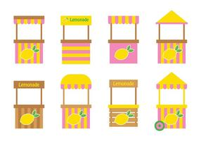 Lemonade Stand Ontwerp Vector