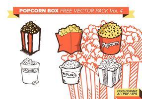 Popcorn Box Gratis Vector Pack Vol. 4