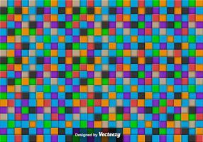 Vector Abstracte Achtergrond Met Kleurrijke Tegels