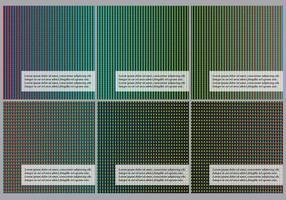 Geleid patronen vector