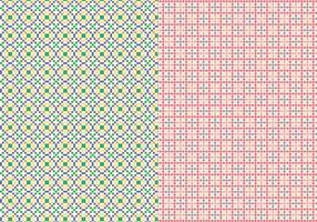 Steken Geometrisch Patroon vector