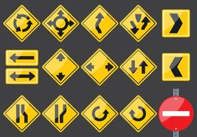 Doorvoerstekens vector