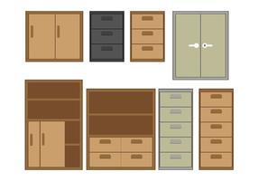 File cabinet vector 2