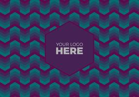 Gratis Vector Donker Logo Achtergrond