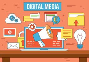 Gratis Vector Digitale Media