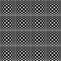 naadloze zwart wit patroon