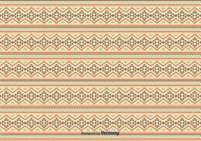 Inheemse Amerikaanse Patroon Achtergrond vector
