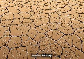 Vector geërodeerde land textuur