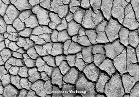 Vector Geërodeerde Textuur Gebarsten Achtergrond