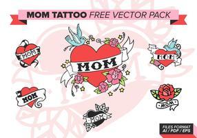 Mamma Tattoo Gratis Vector Pakket