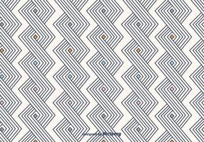Gebroken lijnen patroon vector