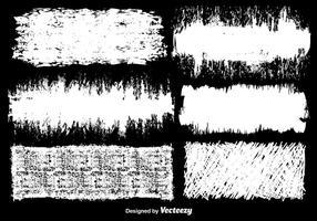 Vector Witte Grunge Achtergronden