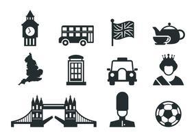 Gratis Engeland Pictogrammen Vector