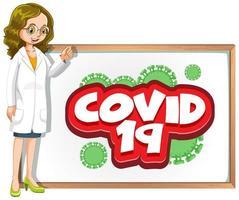 covid 19 met dokter en bestuur