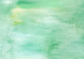 Groene Waterverf Gratis Vector Textuur