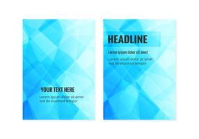 Gratis Vector Business brochure