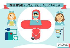 Verpleegster Gratis Vector Pakket
