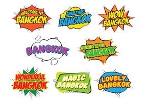Bangkok stickers