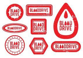 Bloed Drive Vector