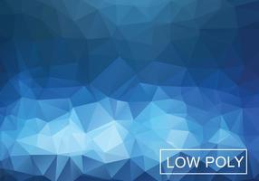 Cobalt Geometrische Lage Polystijl Illustratie Vector