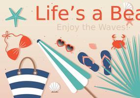 Gratis Summer Lovin 'Vector Beach