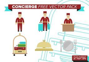 Conciërge Gratis Vector Pack