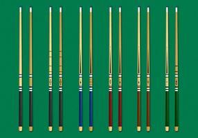 Geweldige Pool Stick vector