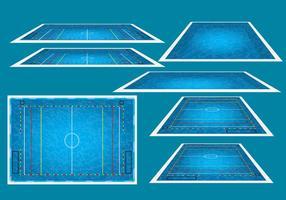 Water polo arena vector