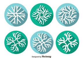 Neuron Pictogrammen Vector